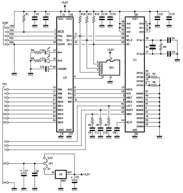 Mp3-плеер на микроконтроллере