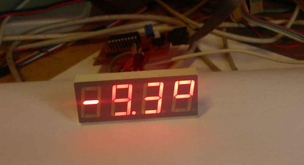 Термометр на PIC.
