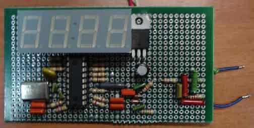 Простой 4-разрядный частотомер на микроконтроллере.  Частотомер на PIC16F84