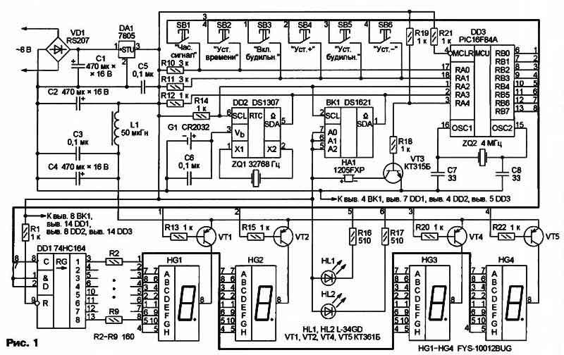 Подобные микросхемы в зарубежной литературе обычно называют RTC - Real Time Clock (часы реального времени).