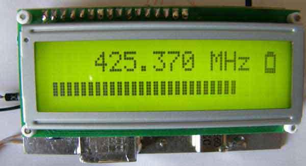 Приемник ЧМ 400-450 МГц