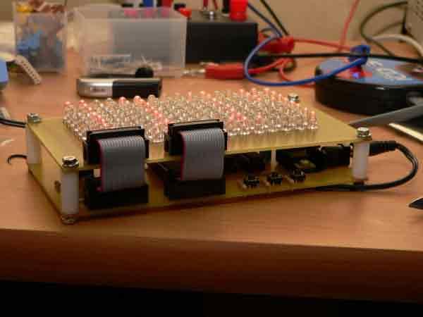 Матричный дисплей – часы на микроконтроллере PIC18F2550