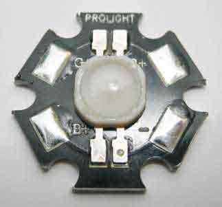 Светодиод RGB мощностью 3 Вт