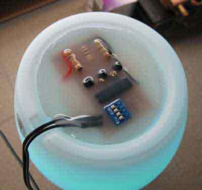 Декоративная лампа на светодиоде высокой мощности