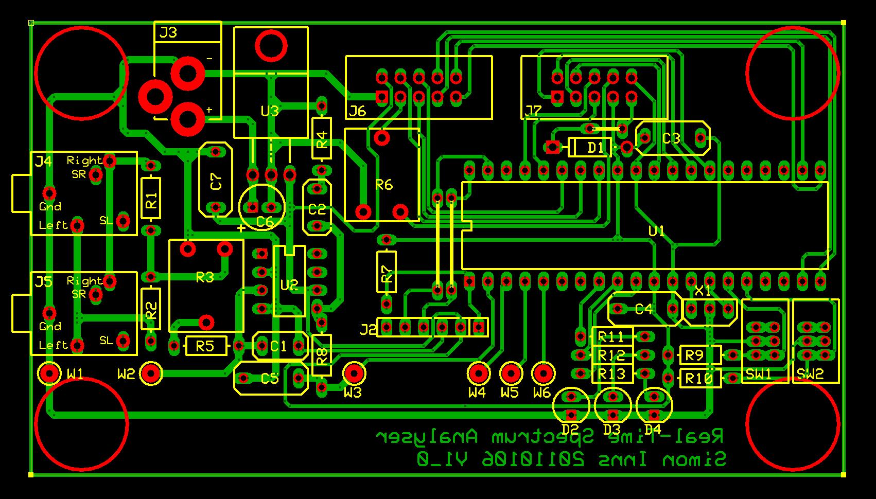 Аудио анализатор спектра схема 19 фотография