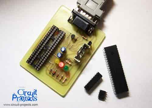 PIC и EEPROM программатор.