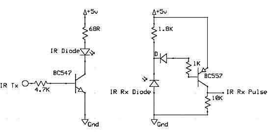 Отраженный сигнал поступает на фотодиод в схеме преобразования.