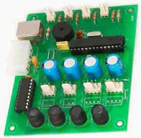 Интеллектуальный многоканальный контроллер вентиляторов охлаждения для ПК