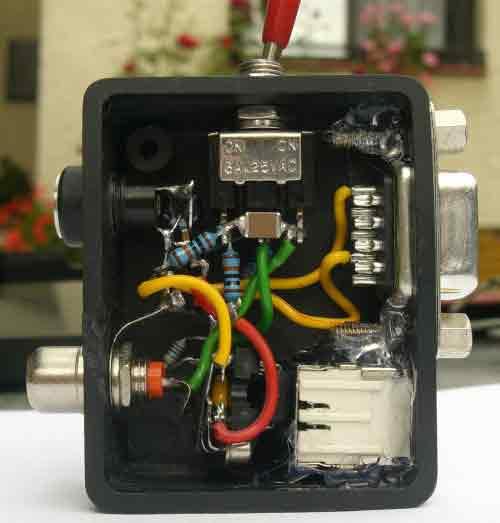 Пример измерения (наша схема против осцилографа заводского) .