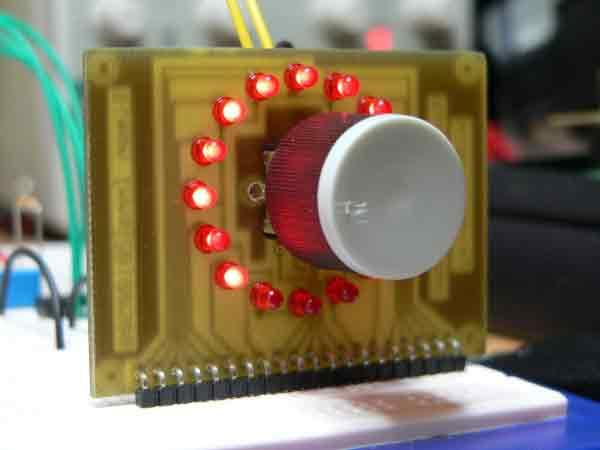 Подключение энкодера к микроконтроллеру PIC