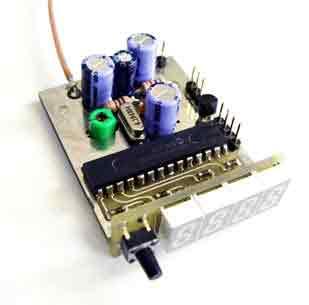 Частотомер 50 МГц, вольтметр и измеритель КСВ/мощности.