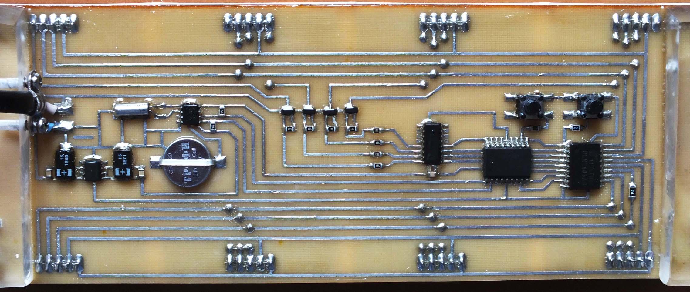 семисегментный электронный термометр схема